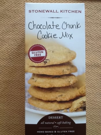 Brown sugar is the main ingredient in Stonewall Kitchen's Chocolate Chunk Cookie Mix.