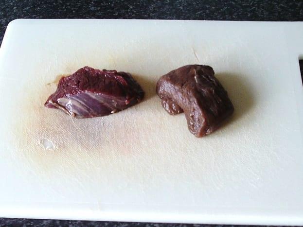 Kangaroo steaks