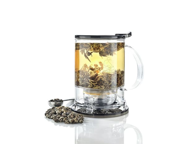 With the launch of Teavana teas, Starbucks has been selling tea brewing equipment in stores.