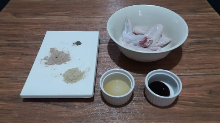 Ingredients for Marinating the Chicken