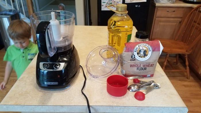 Prep your ingredients.