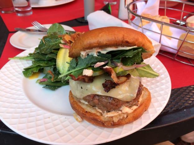 Close-up of Burger