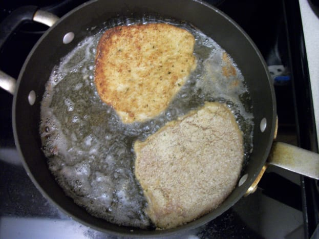Fry cutlets about 2 to 3 minutes per side