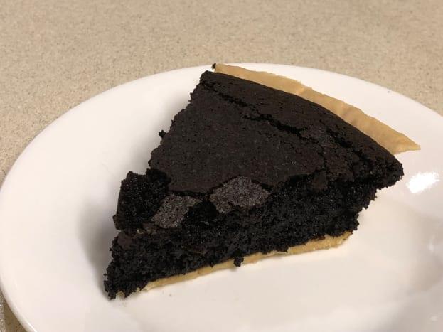 Slice of Fudge Pie