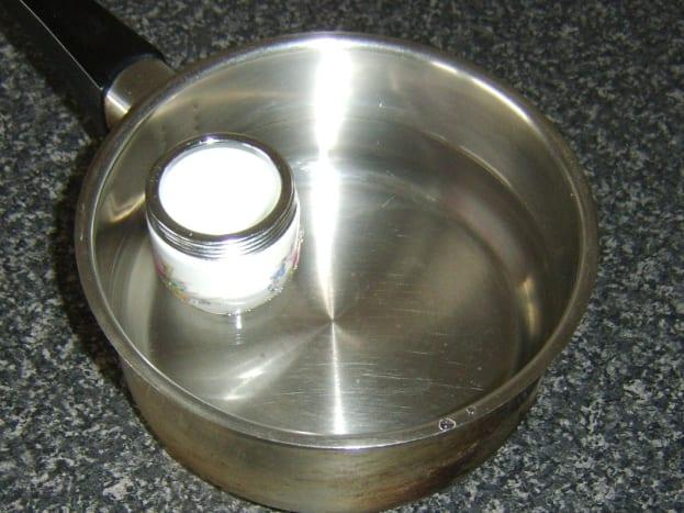 Measuring water depth for coddling duck egg