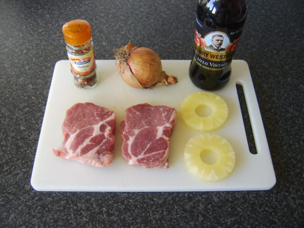Principal spicy pork casserole ingredients