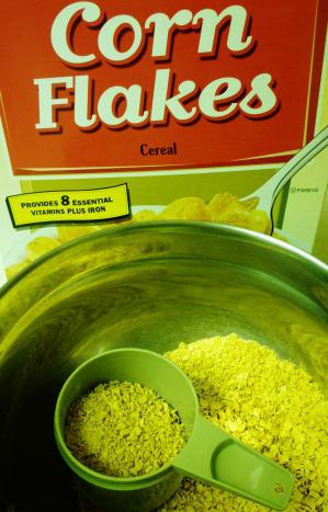 Crushing the cornflakes