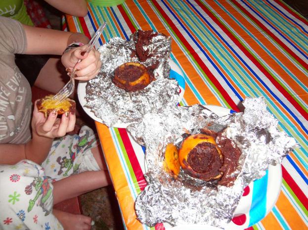 The orange cakes are delicious!