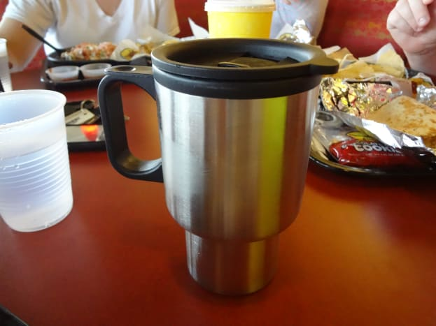 Reusable cups keep paper cups, lids, straws, and straw wrappers out of landfills.