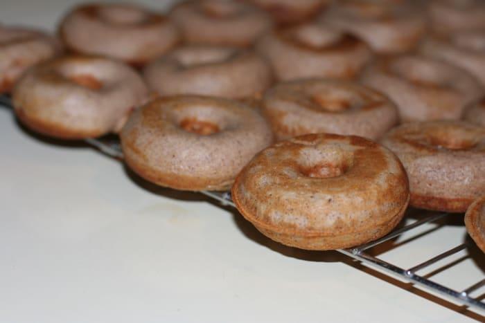 Tasty mini donuts