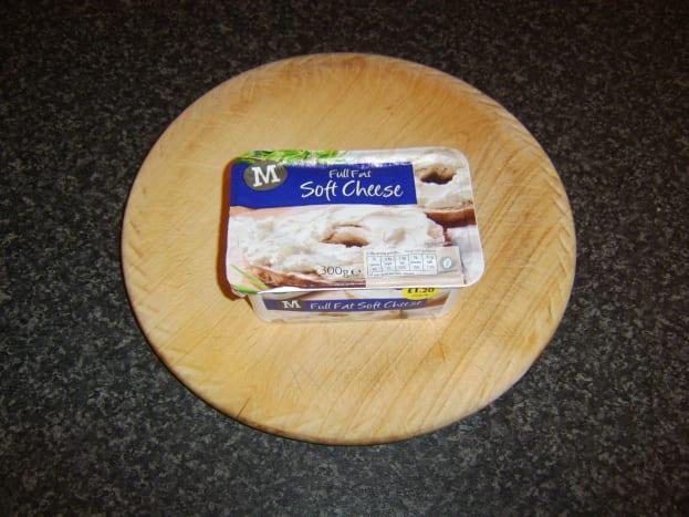Full fat cream cheese