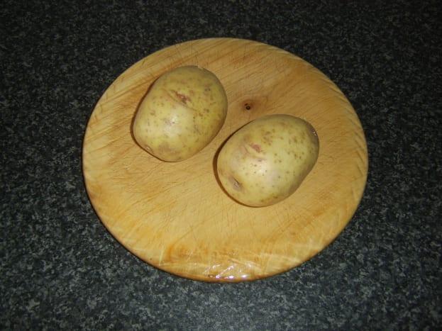 Medium sized baking potatoes