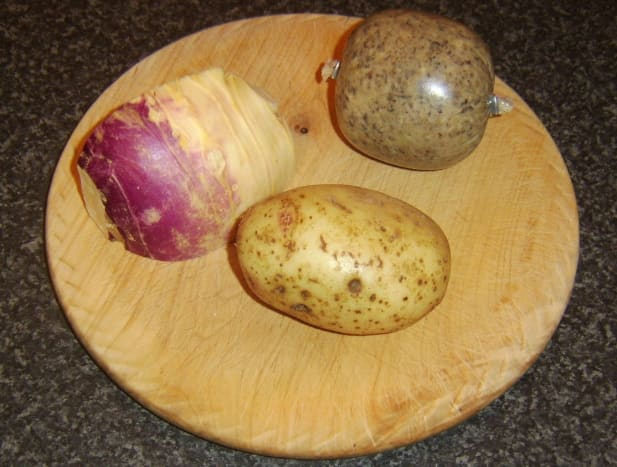 Haggis, tattie and neep