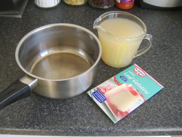 Conger eel jelly ingredients