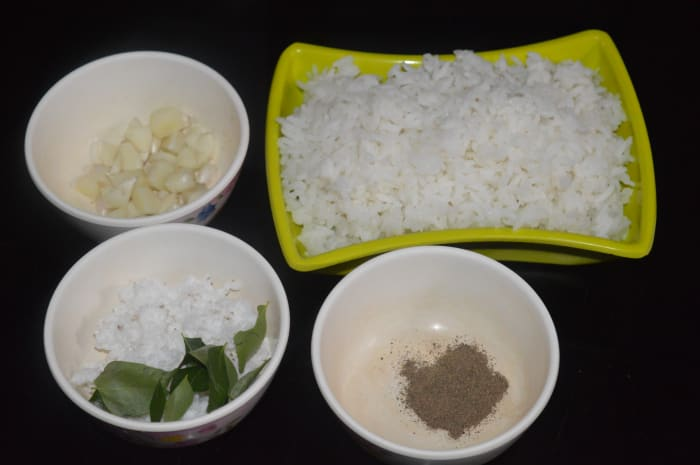 Ingredients Ready for Addition