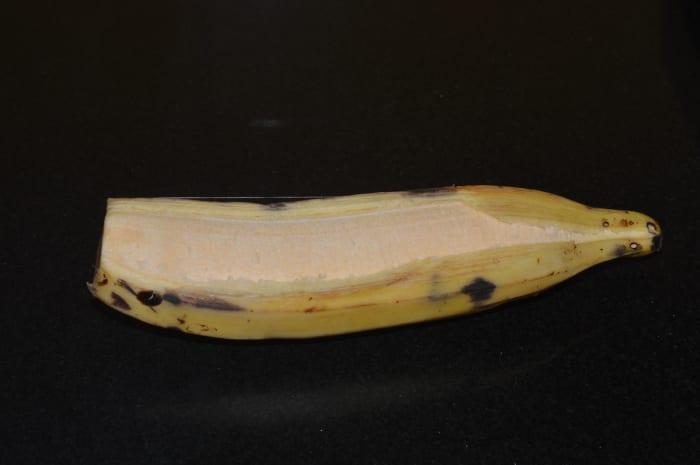 Ripe plantain (nendra banana)