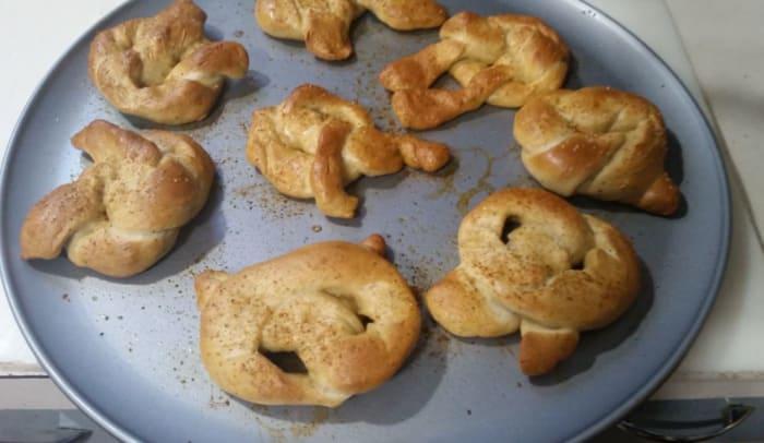 bake until dark golden brown