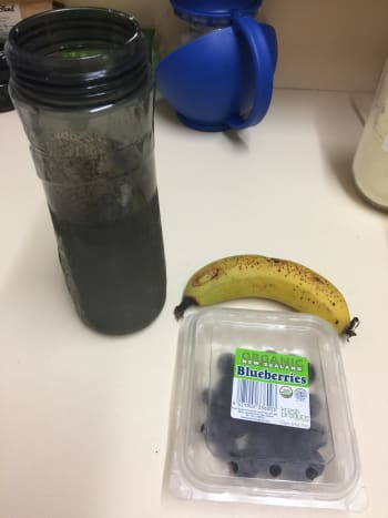 Prepare to add the fruit.