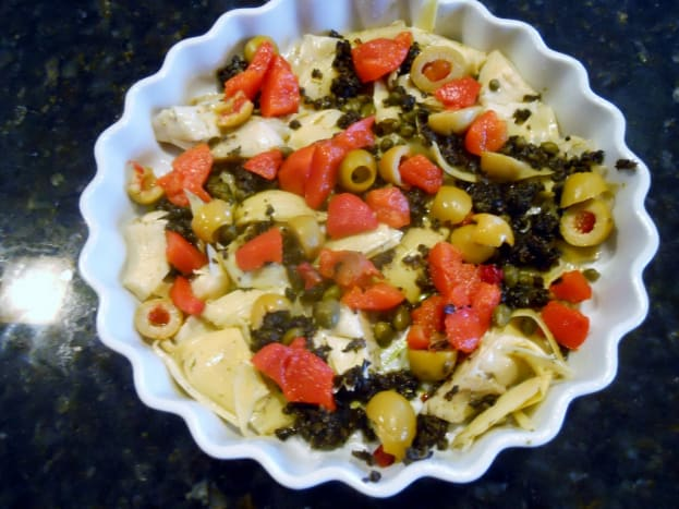 Vegetable Assortment in Baking Dish