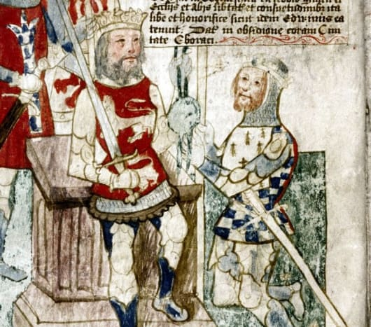 William takes the oath of allegiance of Alan 'Rufus'