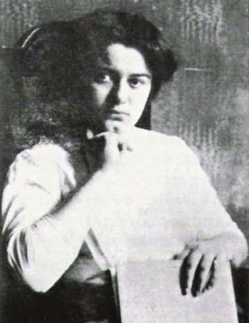 Edith as a student in Breslau, 1913-1914