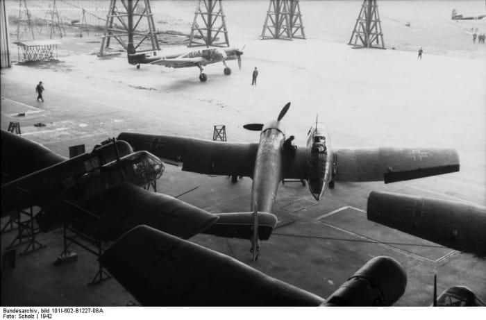 Three BV 141s