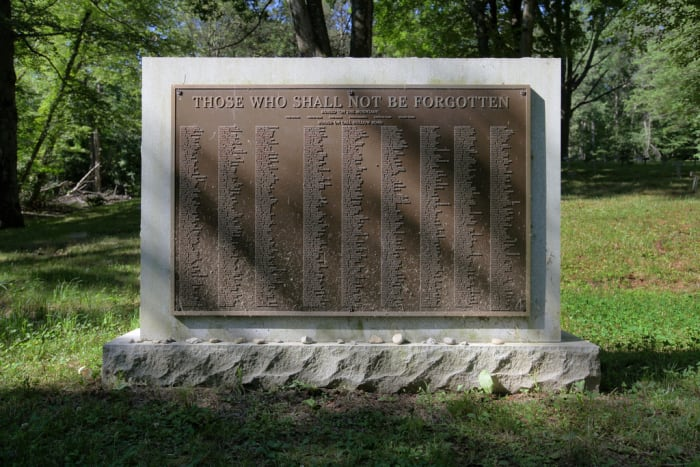 Old Letchworth Village Cemetery The Nameless Cemetery Memorial Abandoned Insane Asylums