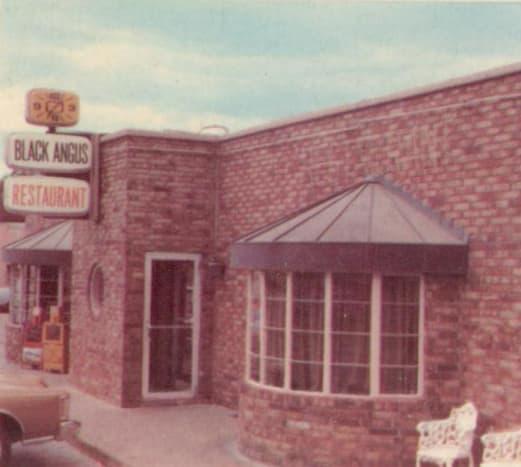 The Black Angus Restaurant