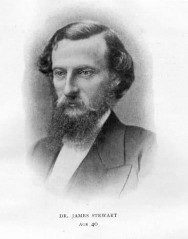 The Rev Dr James Stewart