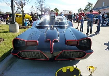 Front of Batmobile