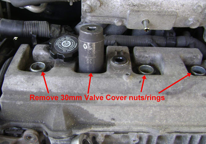 Camry Valve Cover Removal