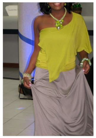 Modelling - as a promotional event