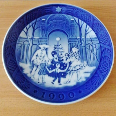 My 1990 Royal Copenhagen Plate - will sell for around £10 - £15