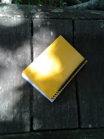 I am a writer. My notebook is where all of my story and article ideas begin.