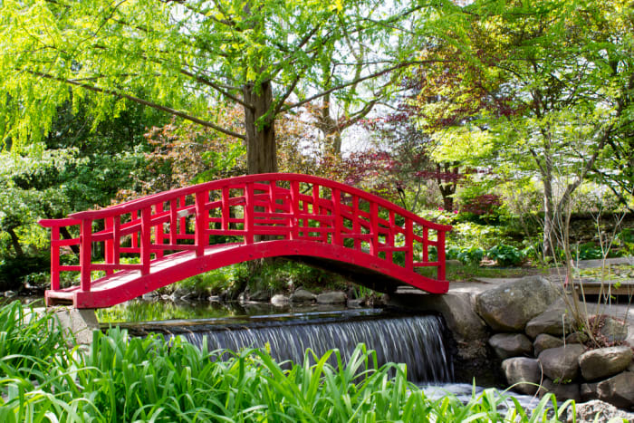 Cranbrook Gardens near Birmingham, Michigan.