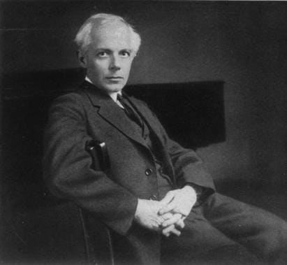 Béla Bartók, renowned composer and ethnomusicologist.