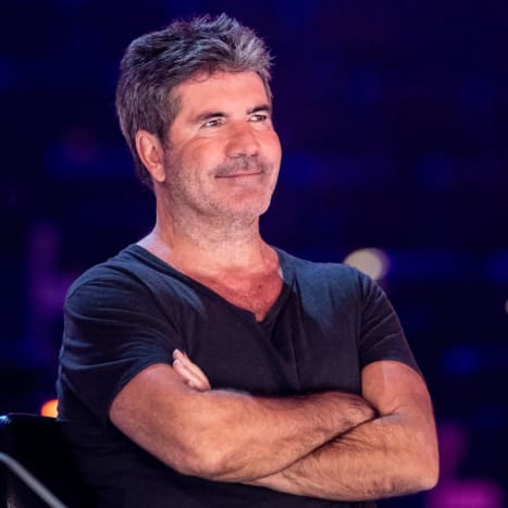 Simon is still making his living as a TV judge.