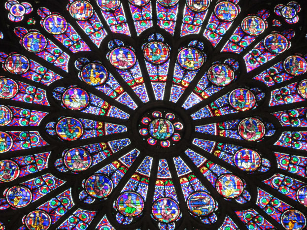 Notre Dame's three rosettes are one of the three greatest masterpieces of Christianity.