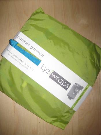 Reusable gift wrap from reuseit.com.