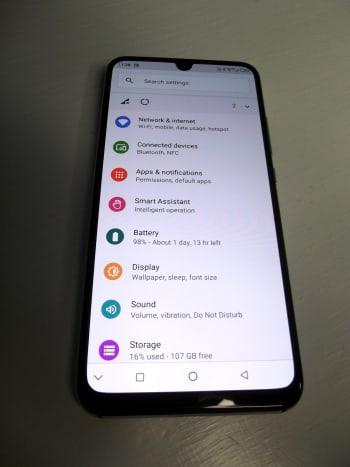 Smartphone Settings