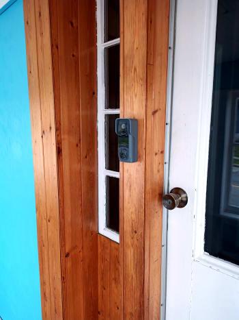 Mounted doorbell