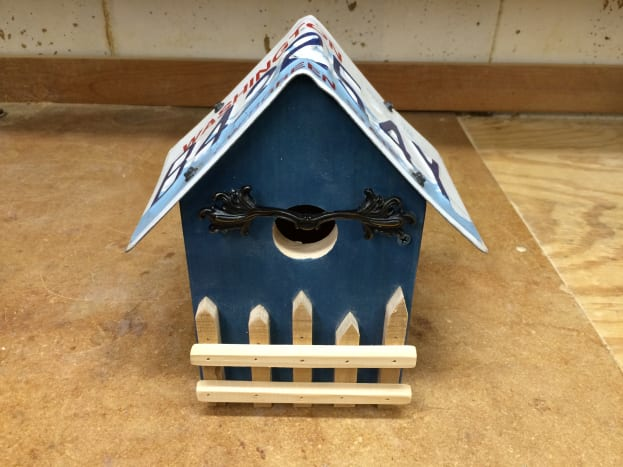 Country Cottage Birdhouse