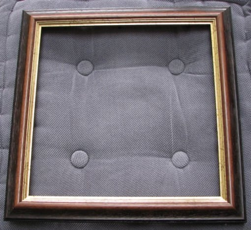 Frame, glass removed