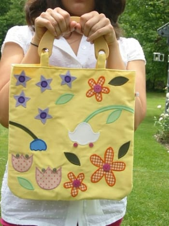 Make Your Own Homemade Bag From Old Clothes Feltmagnet Crafts