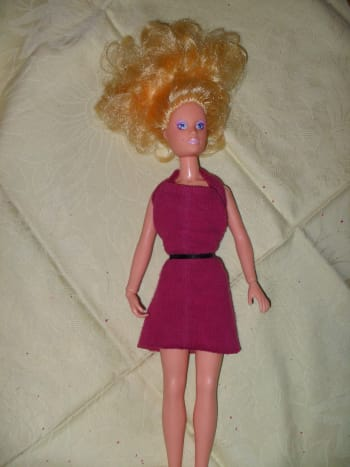 A Completed Halter Dress