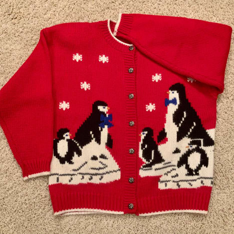 The original 1990 sweater.