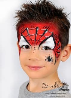 This is a picture I found on the Internet. I keep this picture in my face painting sample book.