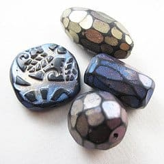 making-handmade-beads-clay-paper-glass-supplies-techniques-tutorials-patterns