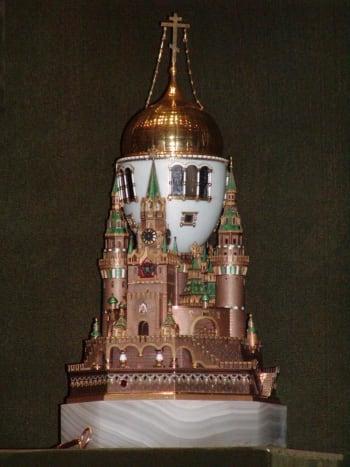 Moscow Kremlin Egg (August 2003)