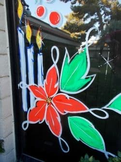So You Want To Paint Holiday Windows Holidappy Celebrations